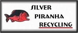 Silver Piranha Recycling Logo, Silver Recovery,Single Use Camera Recovery, Sales Service and Supplies